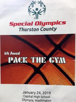 Pack the Gym Flyer